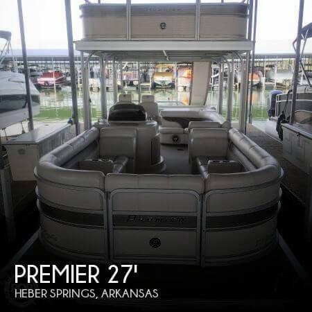 2007 Premier Pontoons 27 - Photo #1