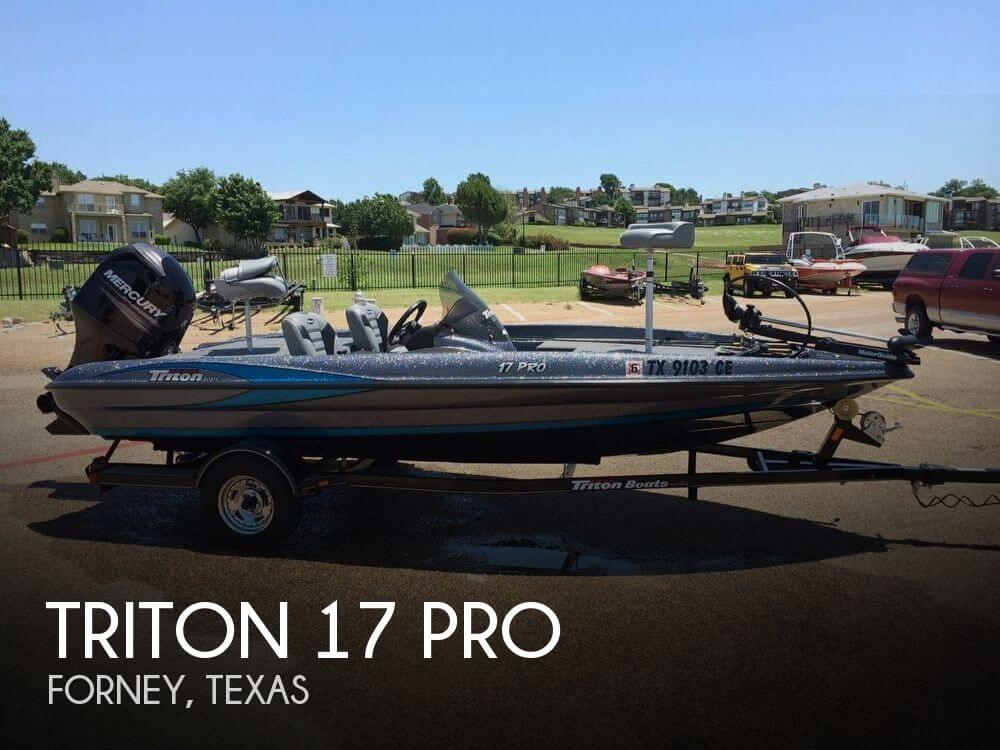 Triton 17 pro for sale in forney tx for 21 500 pop yachts for Stock fish for sale texas