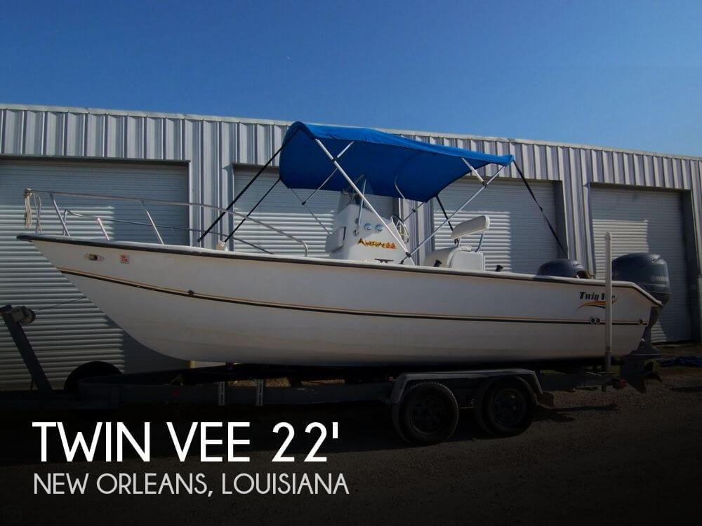 For Sale Used 2000 Twin Vee 22 Awesome Center Console Cat