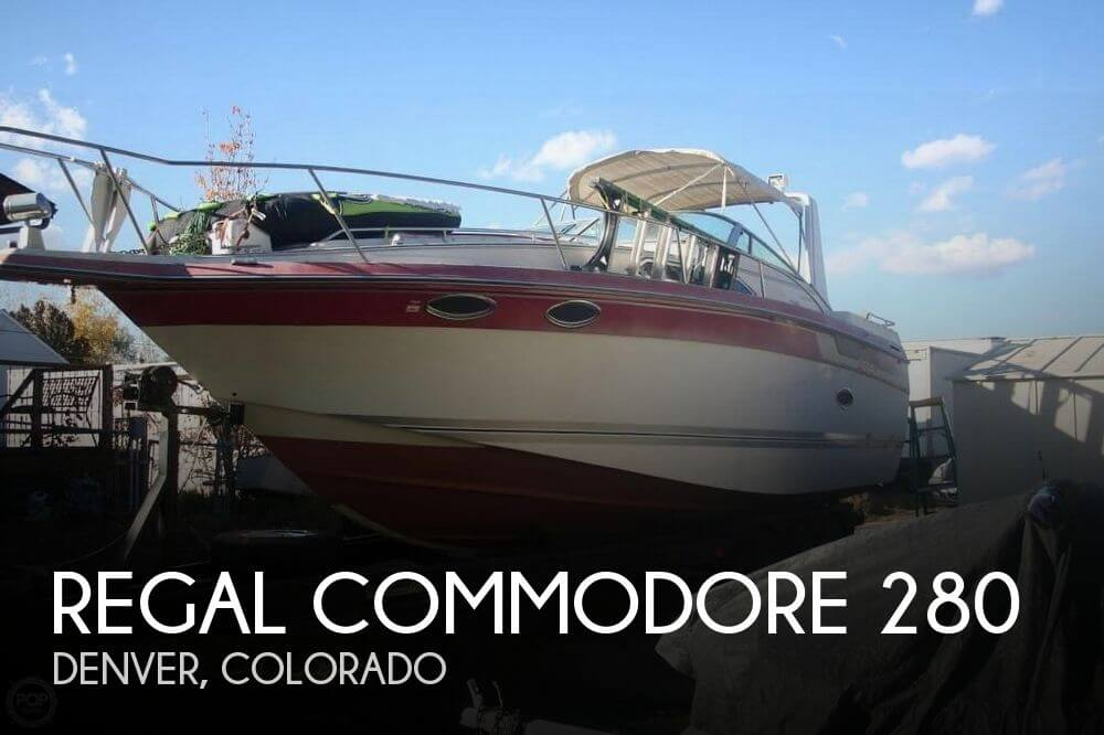 Used Boats For Sale in Colorado Springs, Colorado by owner | 1988 Regal 27