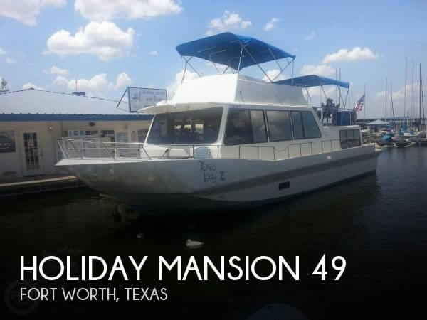 Used Holiday Mansion Houseboats For Sale by owner | 1989 Holiday Mansion 49