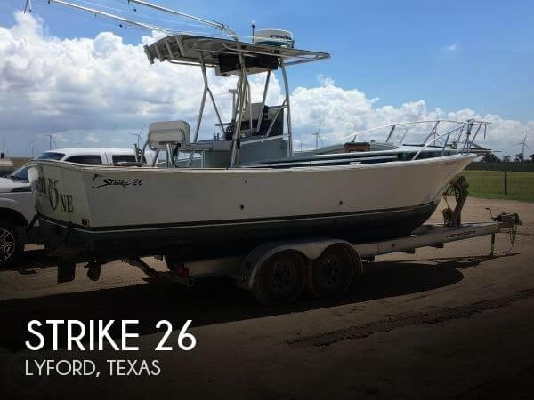 Used Boats For Sale in McAllen, Texas by owner | 1988 Strike 26