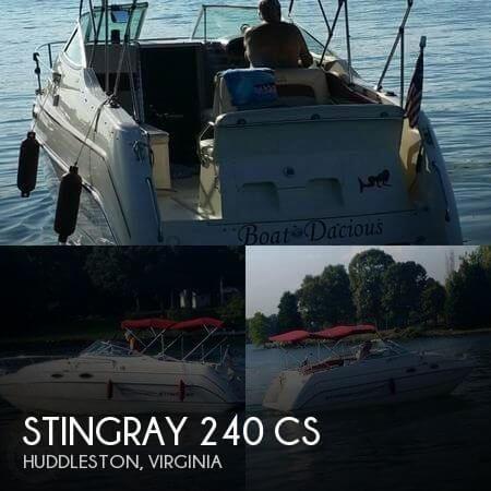 1997 STINGRAY 240 CS for sale