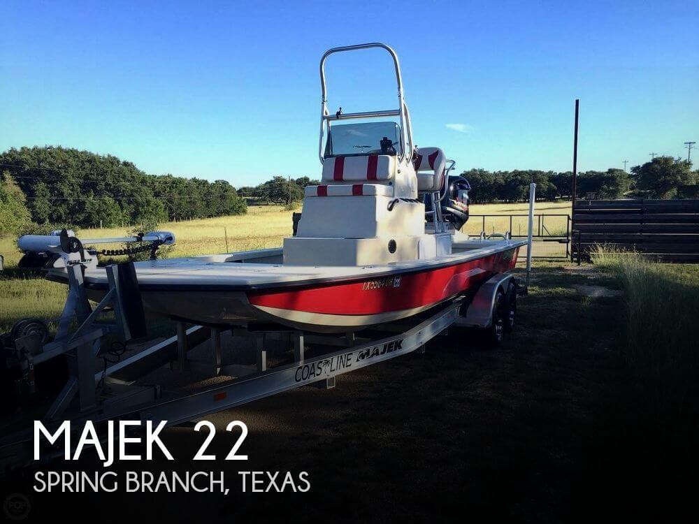 22 Foot Majek 22 22 Foot Motor Boat In Spring Branch Tx
