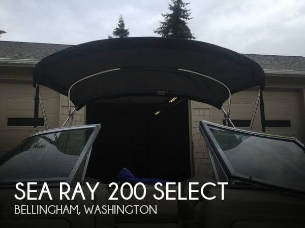 2005 SEA RAY 200 SELECT for sale