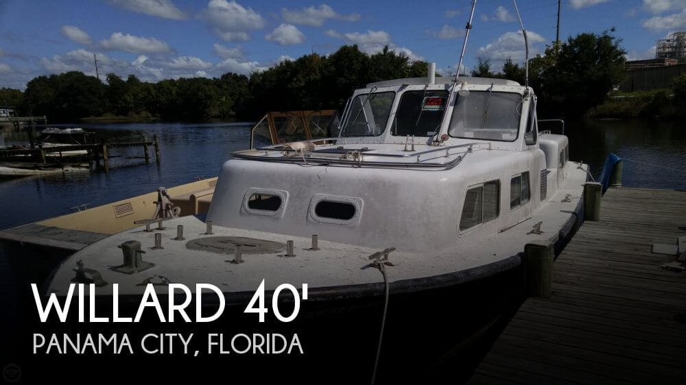 for sale used 1986 willard 40 captain personnel in panama