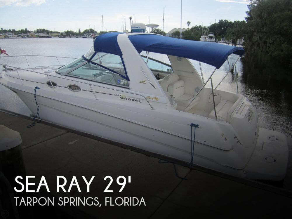 Used Sea Ray 29 Boats For Sale by owner | 2000 Sea Ray 290 Sundancer