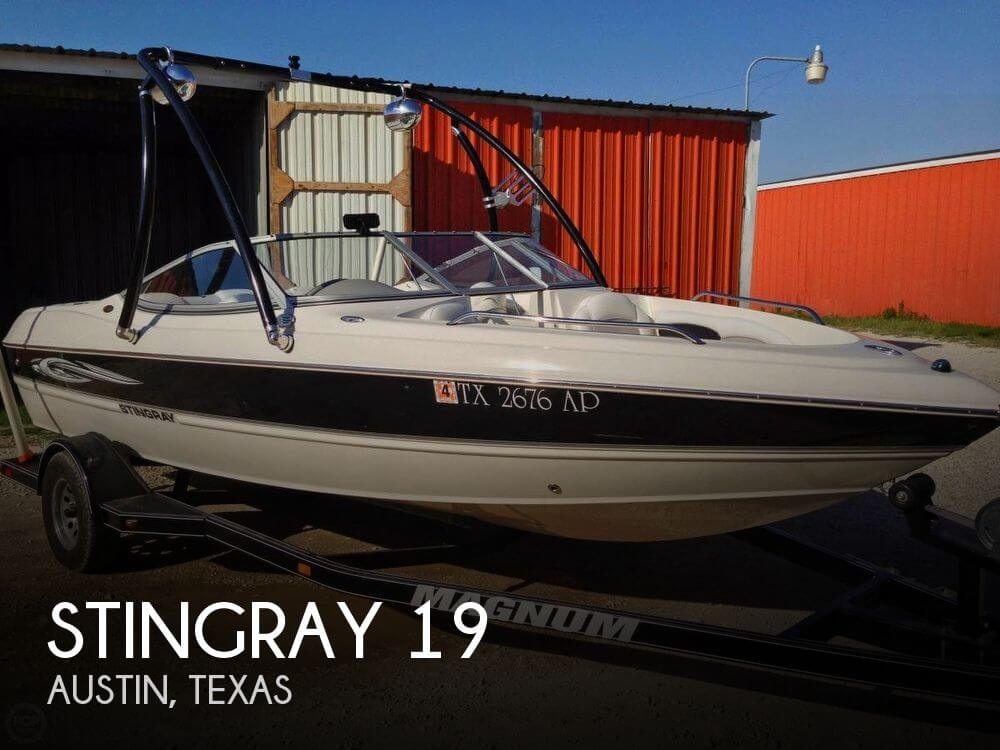 19 Foot Stingray 19 19 Foot Stingray Motor Boat In
