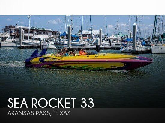 Used Boats For Sale in Corpus Christi, Texas by owner | 2006 Sea Rocket 33