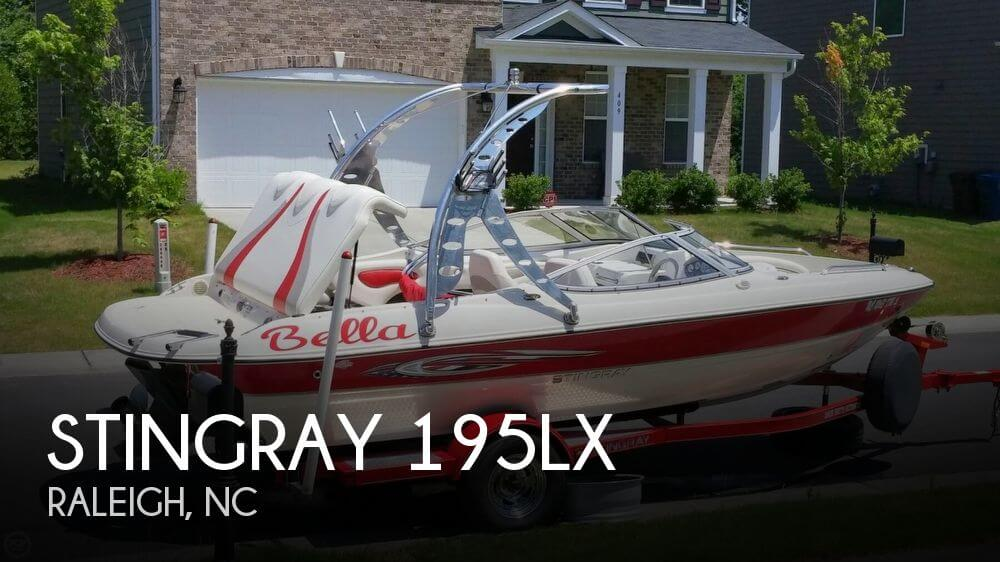 For sale used 2008 stingray 195lx in raleigh north for Fishing in raleigh nc
