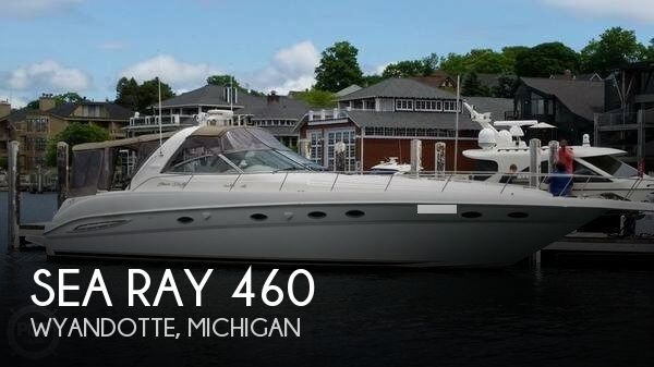 Used Boats For Sale in Detroit, Michigan by owner | 1999 Sea Ray 46
