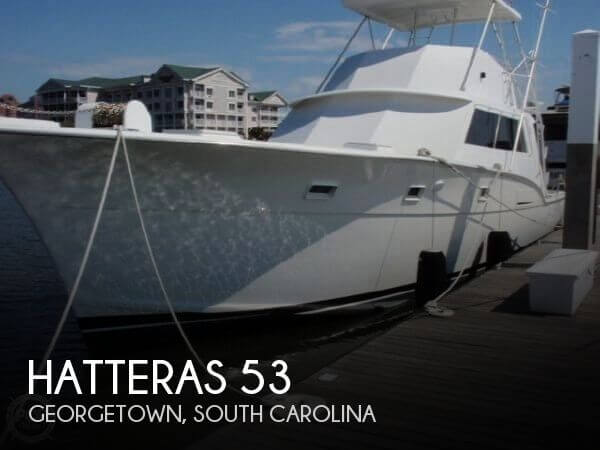 Used HATTERAS Boats For Sale by owner | 1973 Hatteras 53