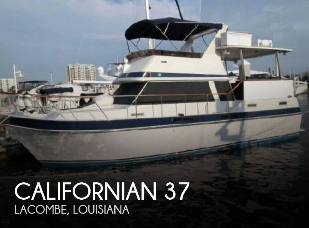 Used Californian Boats For Sale by owner | 1983 Californian 37