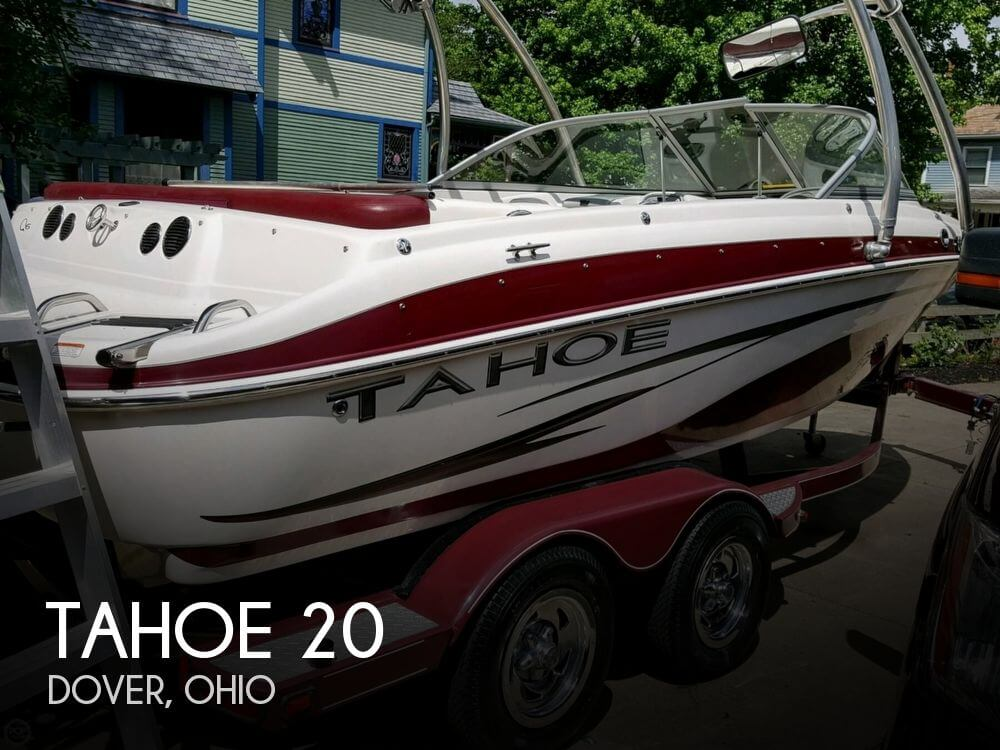 Used Ski Boats For Sale in Ohio by owner | 2008 Tahoe 20