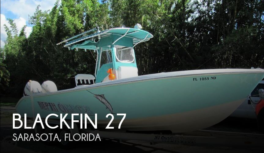 Used Blackfin Boats For Sale by owner | 2006 Blackfin 27