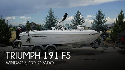 Used Boats For Sale in Cheyenne, Wyoming by owner | 2011 Triumph 19