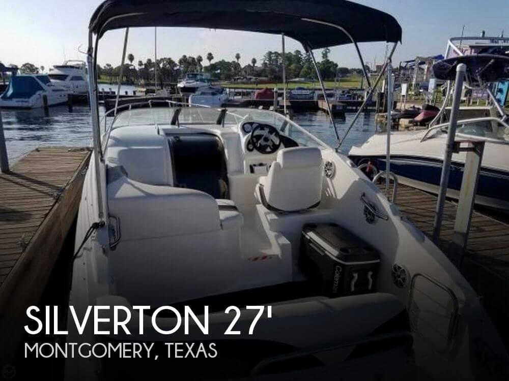 27 Foot Silverton 27 27 Foot Silverton Motor Boat In