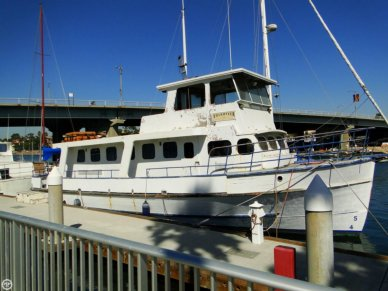 US Navy 57 Trawler, 57', for sale - $25,000
