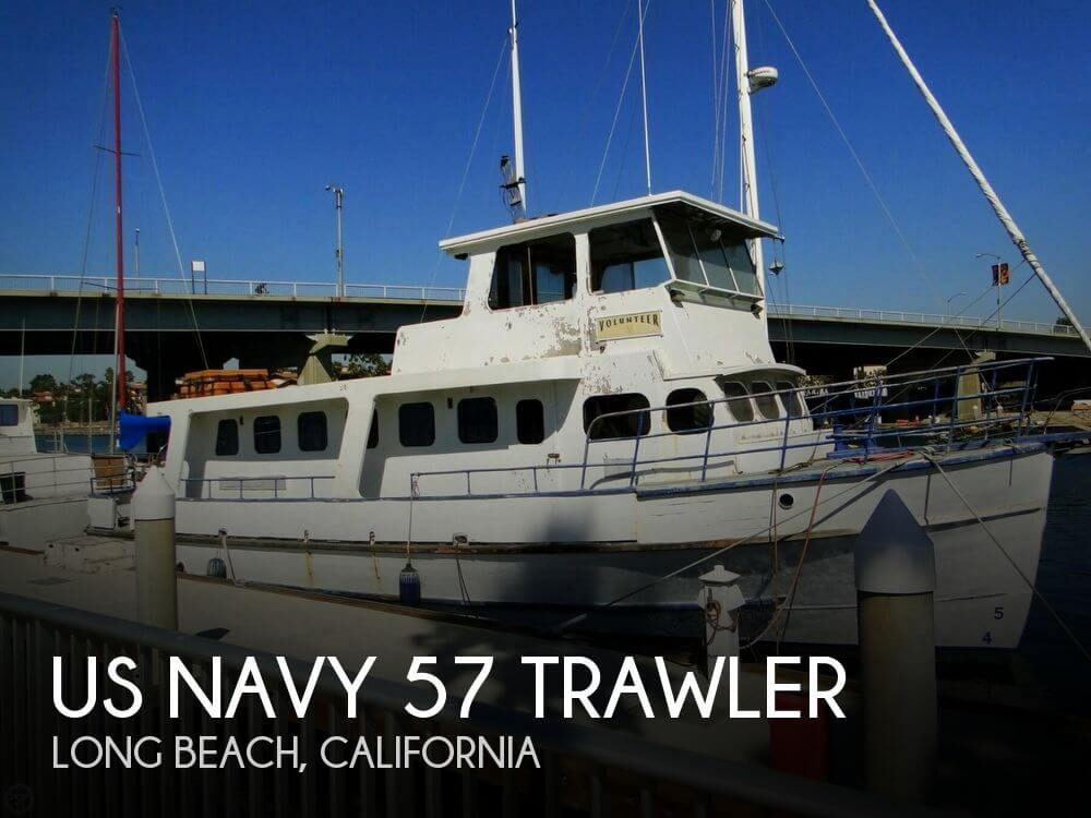 Used 1955 Us Navy 57 Trawler For Sale