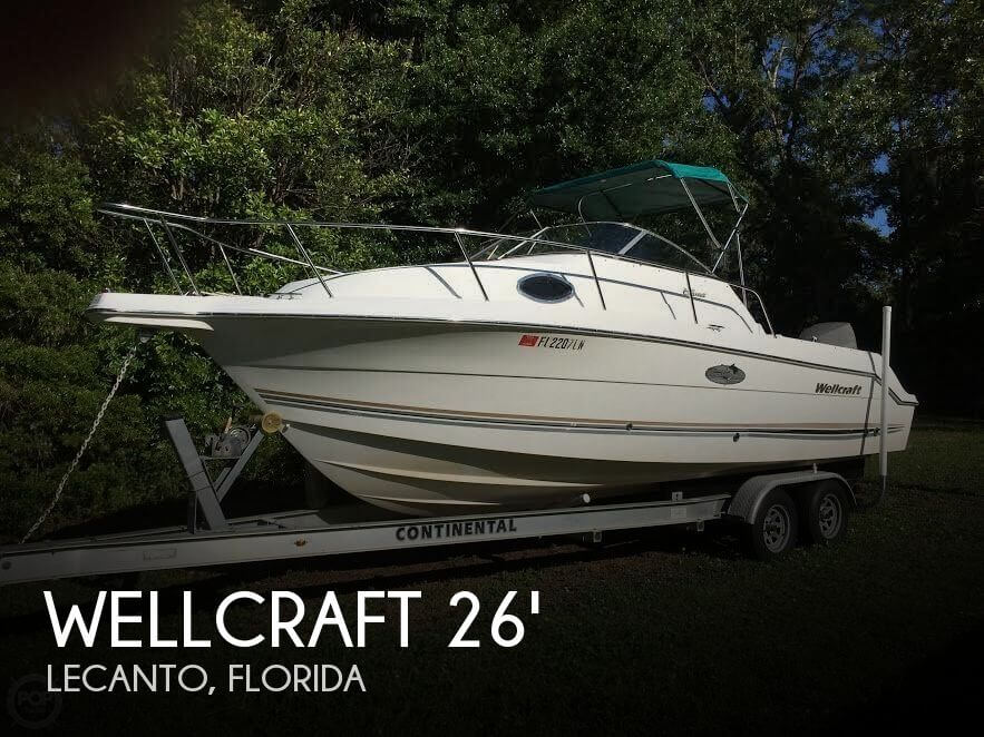 Used Wellcraft Boats For Sale in Florida by owner | 2001 Wellcraft 26