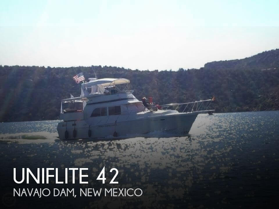 Used Boats For Sale in New Mexico by owner | 1984 Uniflite 42