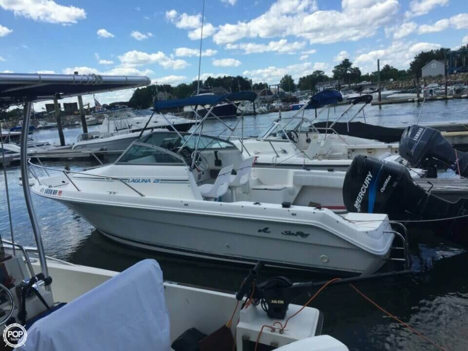 1993 Sea Ray boat for sale, model of the boat is 21 Laguna WA & Image # 3 of 41