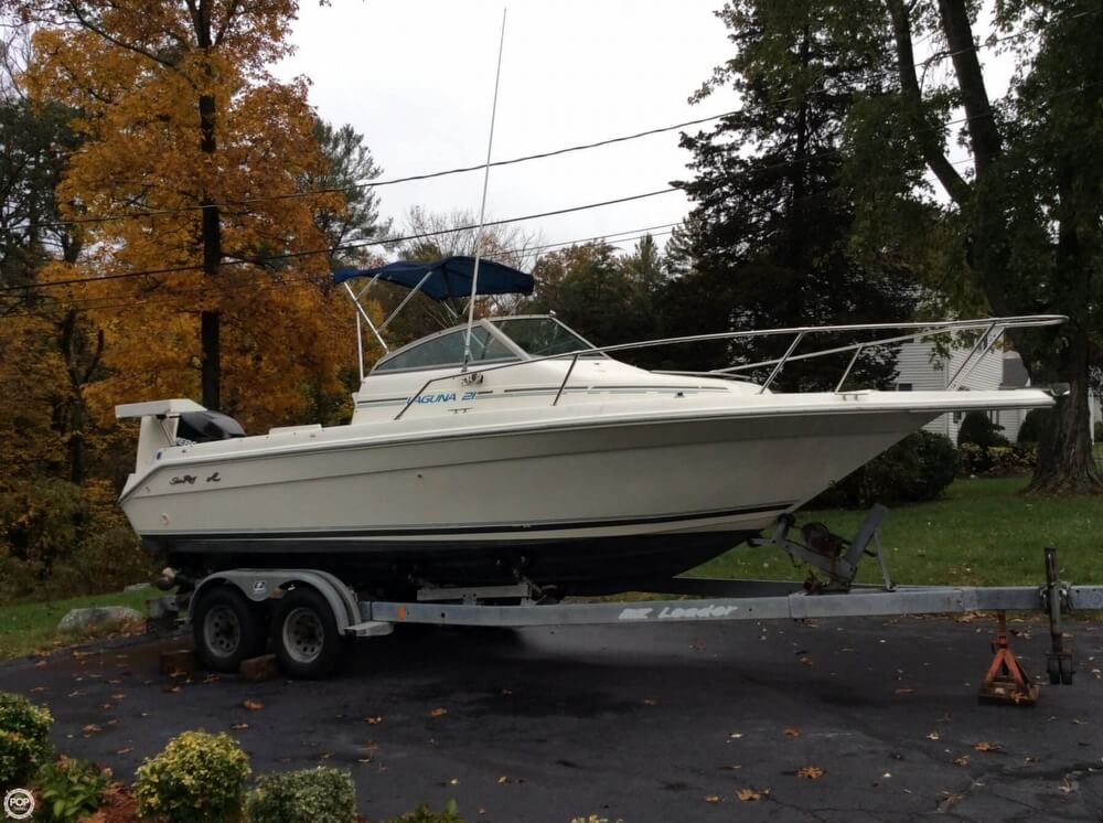 1993 Sea Ray boat for sale, model of the boat is 21 Laguna WA & Image # 8 of 41