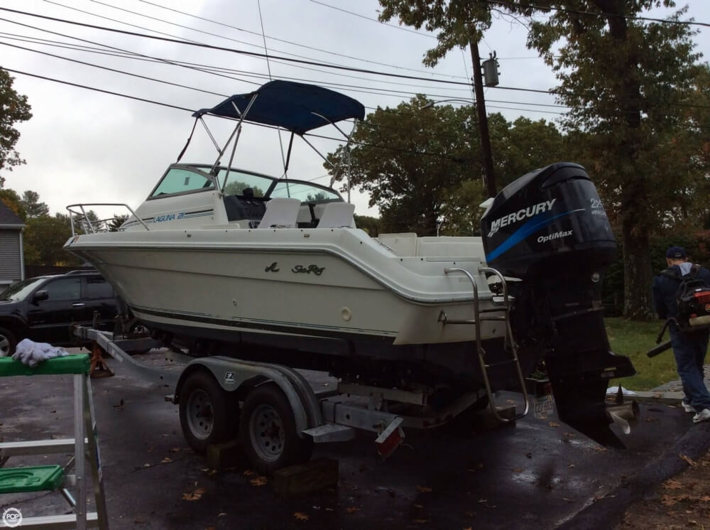 1993 Sea Ray boat for sale, model of the boat is 21 Laguna WA & Image # 11 of 41