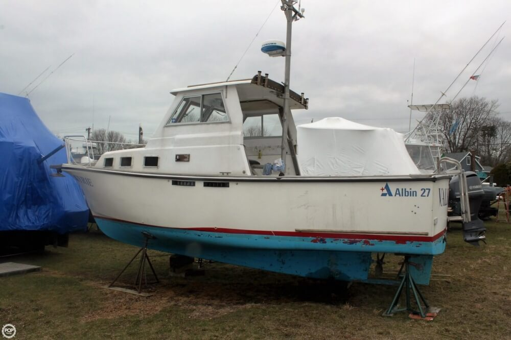 1986 Albin Yachts boat for sale, model of the boat is 27 & Image # 38 of 41