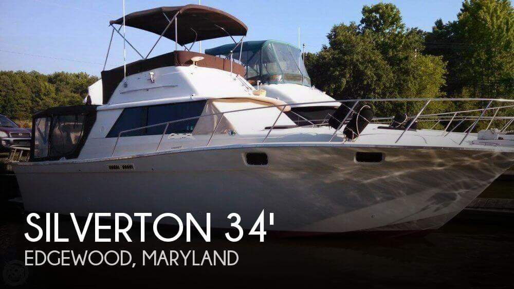 Sold silverton convertible boat in edgewood md 116178 for Outboard motors for sale maryland