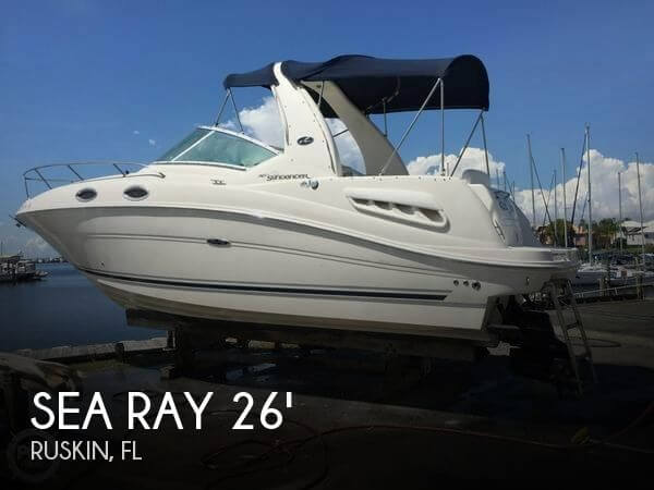 Used Sea Ray 26 Boats For Sale by owner | 2006 Sea Ray 260 Sundancer