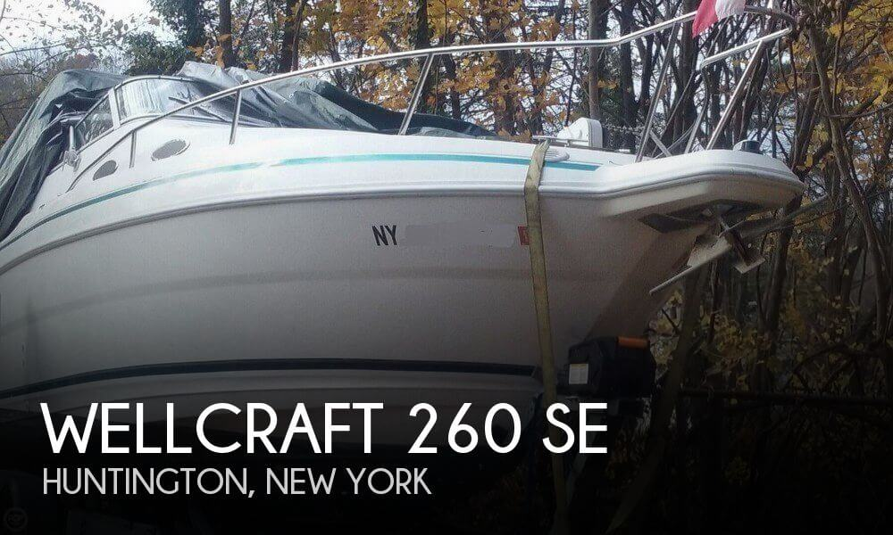 Used Wellcraft Boats For Sale in New York by owner | 1998 Wellcraft 260 SE