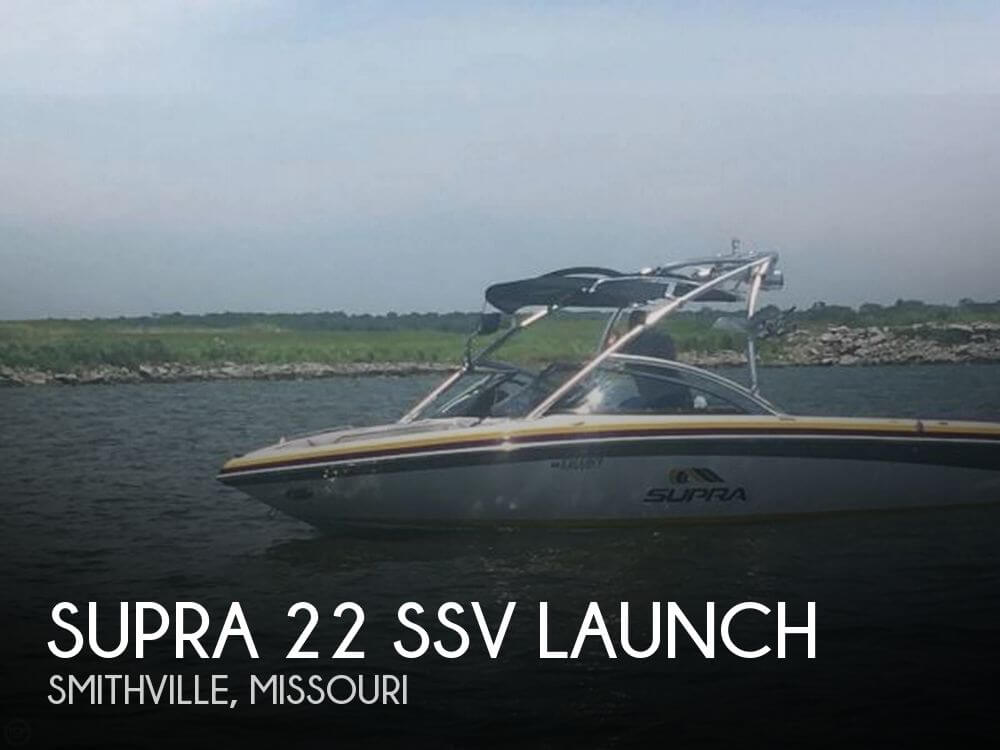 Used Boats For Sale in Kansas City, Missouri by owner | 2008 Supra 22 SSV Launch