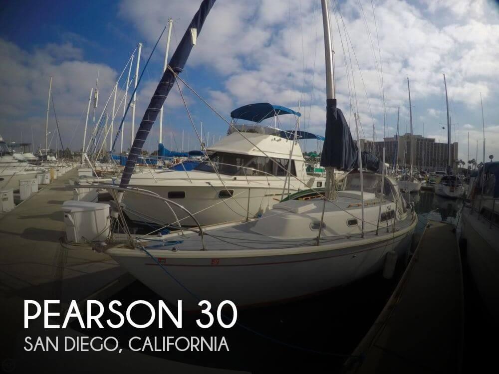For Sale Used 1974 Pearson 30 In San Diego California
