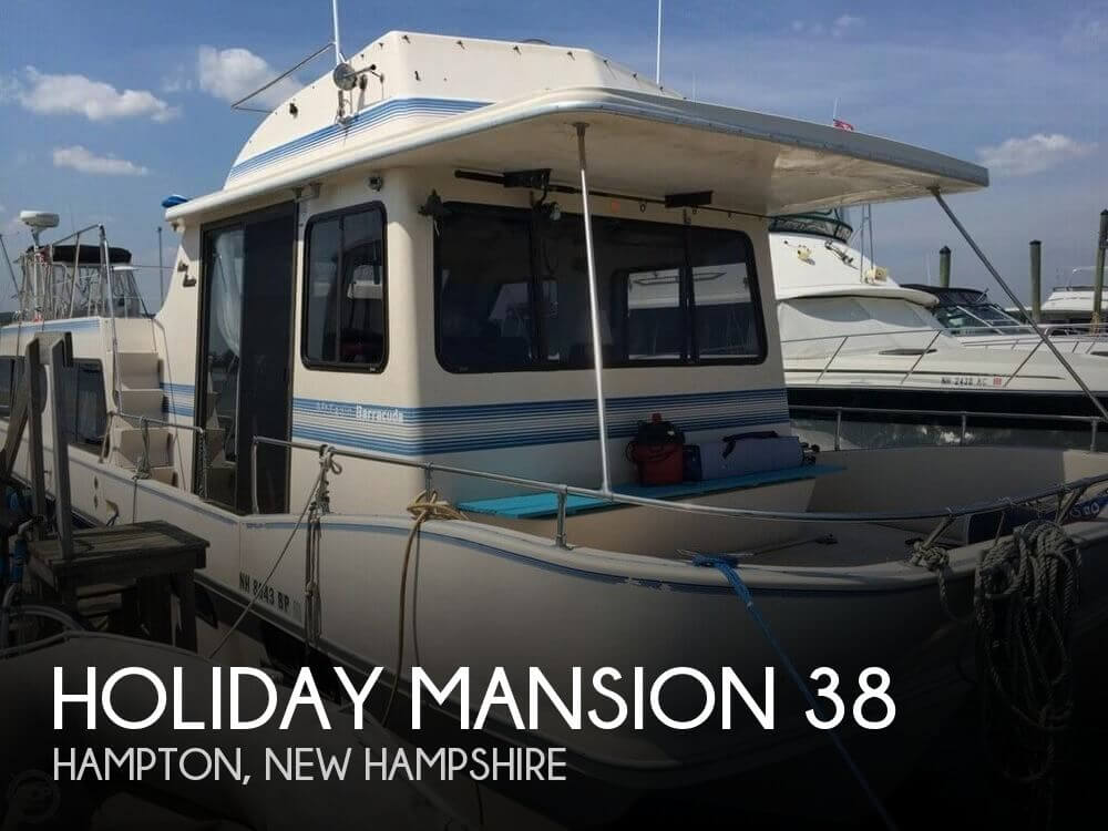 Used Holiday Mansion Houseboats For Sale by owner | 1989 Holiday Mansion 38
