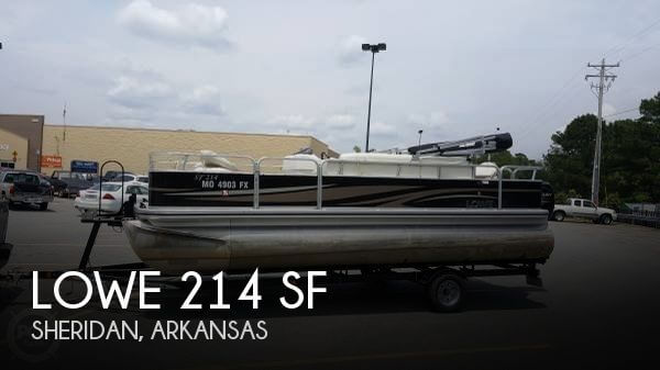 Used Pontoon Boats For Sale in Arkansas by owner | 2013 Lowe 20