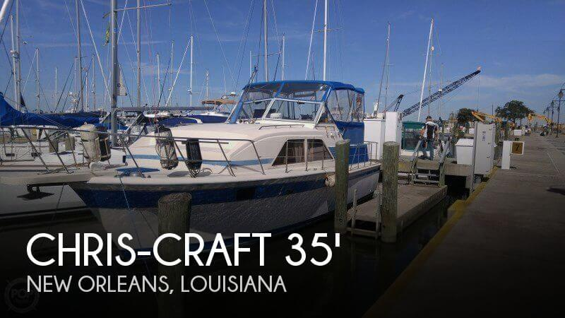 For Sale Used 1983 Chris Craft 350 Catalina In New