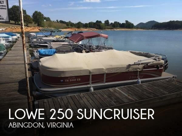 2011 LOWE 250 SUNCRUISER for sale
