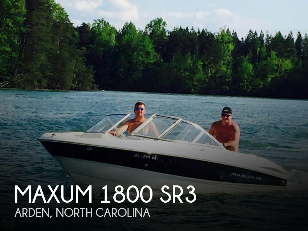 Used Maxum Boats For Sale in North Carolina by owner | 2008 Maxum 1800 SR3