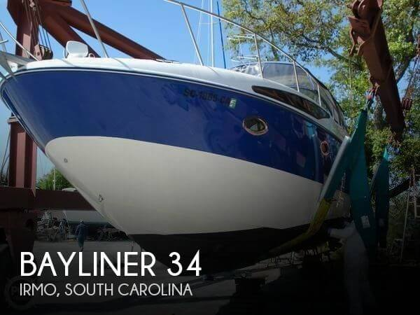 Used Boats For Sale in Augusta, Georgia by owner | 2006 Bayliner 34