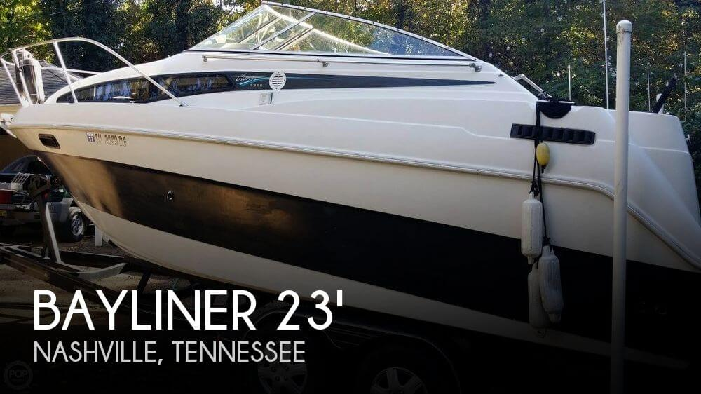 23 Foot Bayliner 23 23 Foot Motor Boat In Nashville Tn