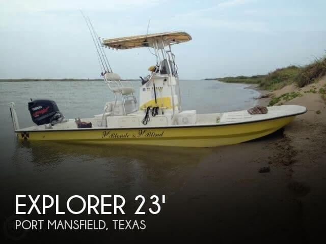 Used Boats For Sale in McAllen, Texas by owner | 2007 Explorer 23