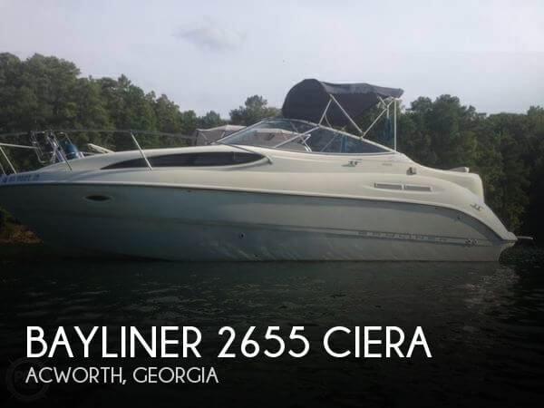 2002 Bayliner 2655 Ciera For Sale