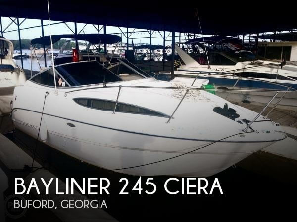 Used Bayliner Boats For Sale in Georgia by owner   2003 Bayliner 24
