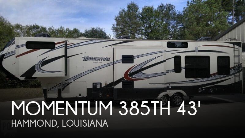 2015 Grand Design Momentum 385TH 43'