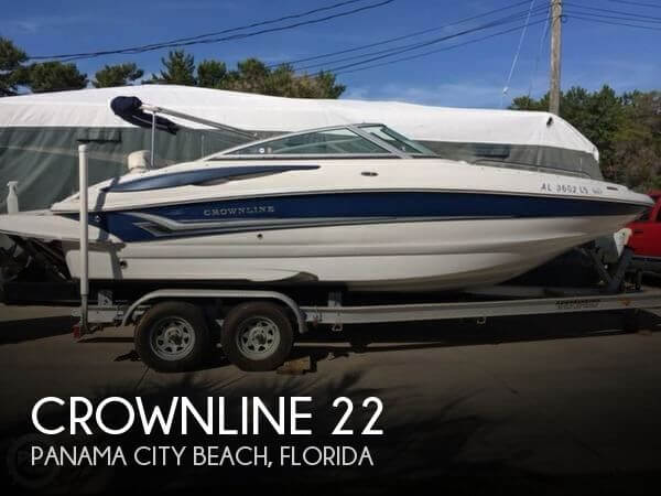 Used Crownline Deck Boats For Sale by owner | 2008 Crownline 22