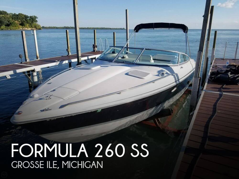 CANCELED: Formula 260 SS boat in Grosse Ile, MI | 116500