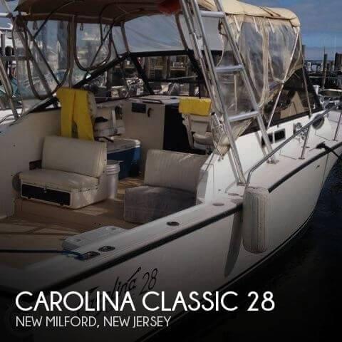 1995 carolina classic 28 fishing boat for sale in new for Fishing boats for sale nj