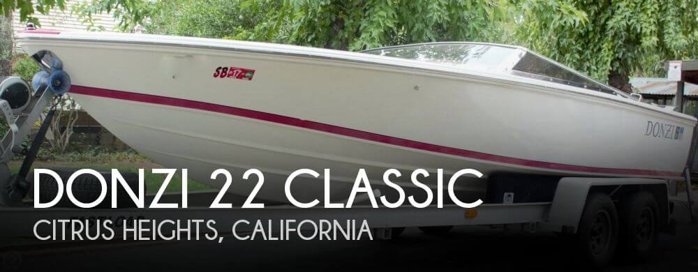 Used 1997 Donzi 22 Classic For Sale