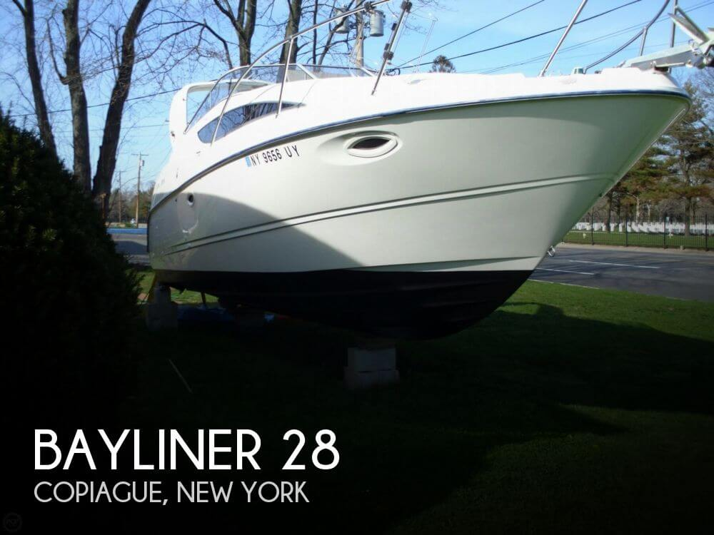 Used Bayliner Boats For Sale in New York by owner | 2002 Bayliner 28